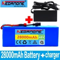 48v lithium ion battery 48v 28ah 1000w 13s3p lithium ion battery pack for 54 6v e bike electric bicycle scooter with bmscharger