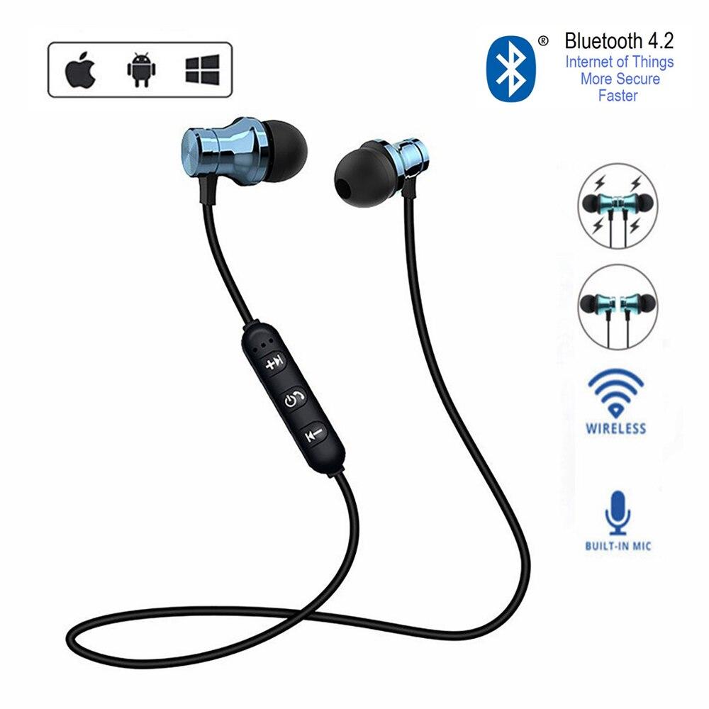XT11 Спорт бег Bluetooth Беспроводной наушники активное Шум шумоподавлением гарнитура для мобильного телефона музыка бас Bluetooth гарнитура с микрофоном