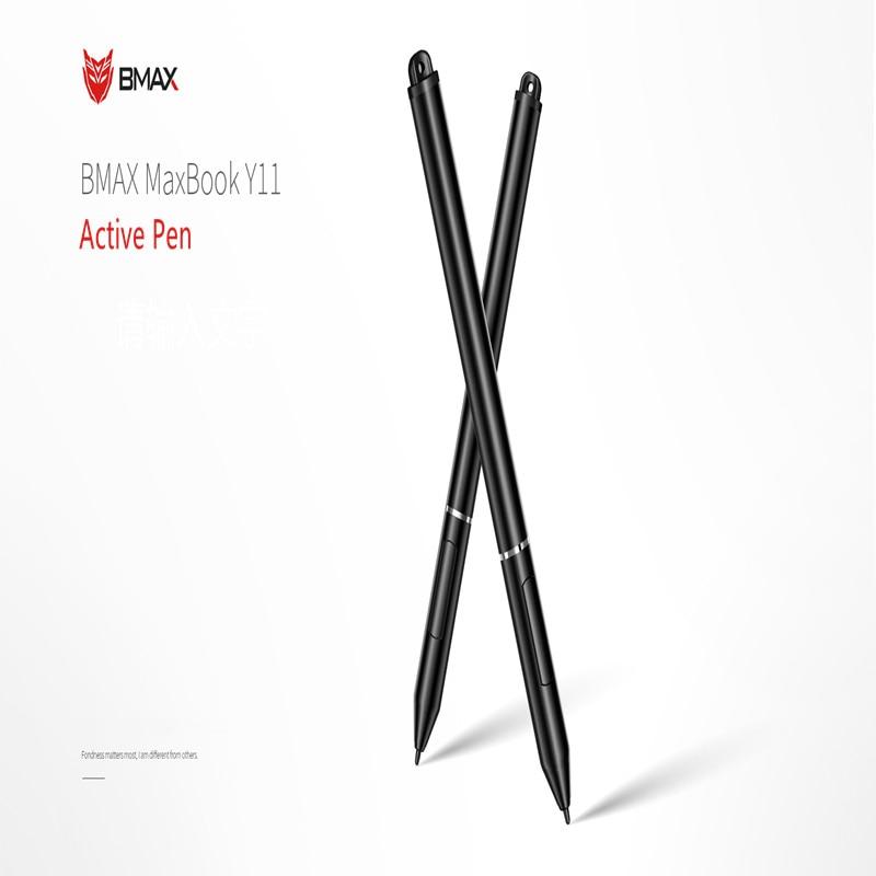 Bolígrafo capacitivo activo de Bmax Y11, lápiz táctil de pantalla táctil para ordenador portátil, apoya la mano para la Oficina