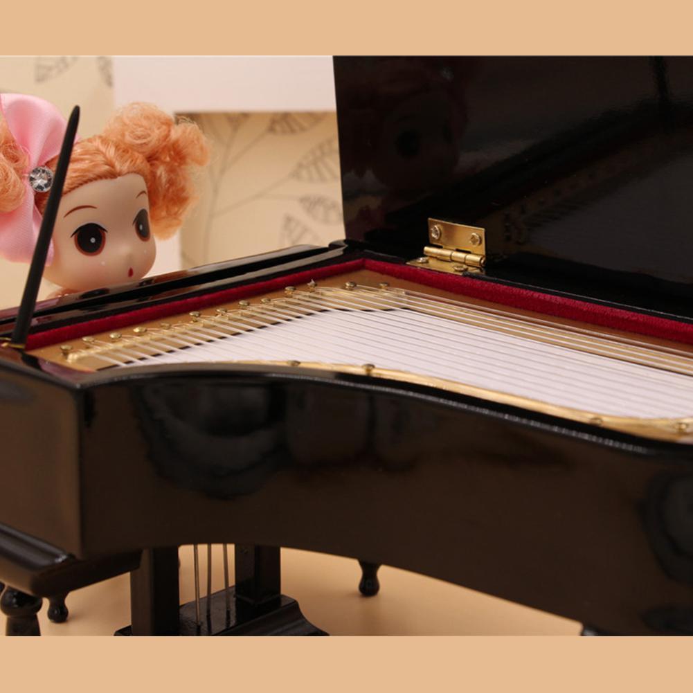 Miniature Piano Model  Mini Piano Musical Instrument Ornaments Display enlarge