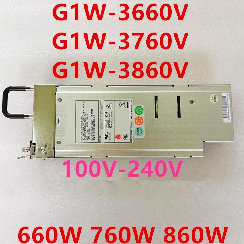 Nueva PSU para Zippy Emacs 660W 760W 860W fuente de alimentación G1W-3660V G1W-3760V G1W-3860V