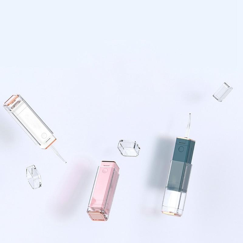 مصغر الكهربائية المحمولة مسواك الفم الري المحمولة الخيط نظافة الأسنان نظافة الفم