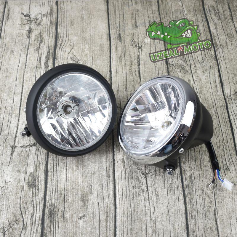 Retro Motorcycle Refitting Racing Headlamp