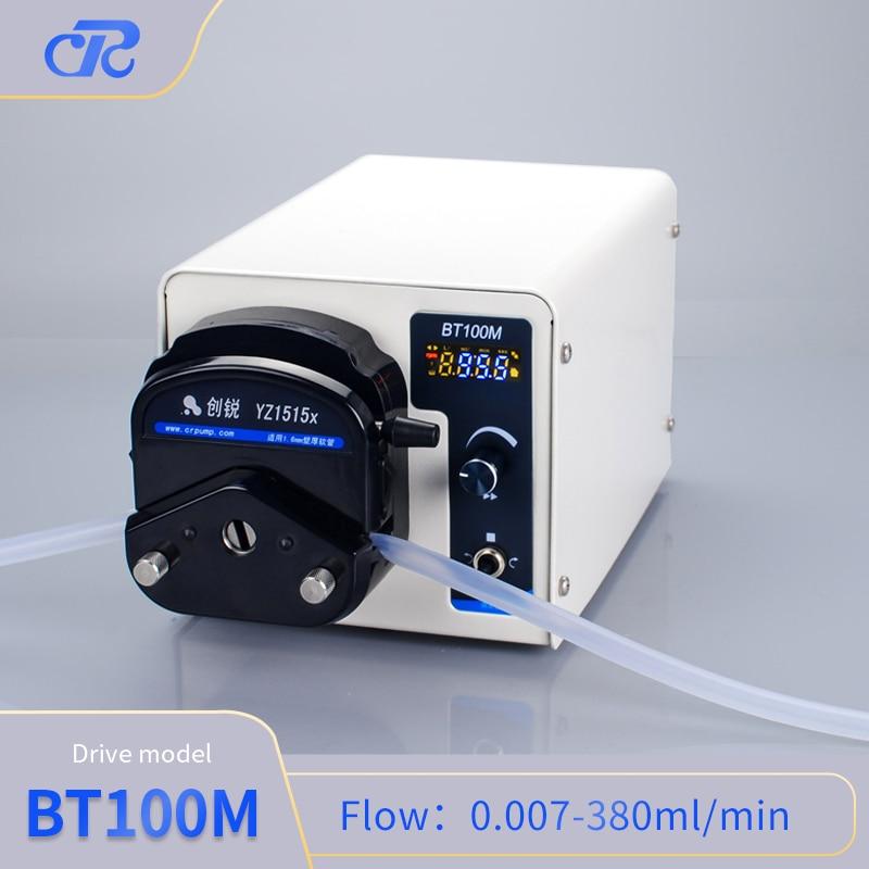 Chuangrui Small Flow Rate Glue Transfer Peristaltic Pump Mini Lab Dosing Pump enlarge