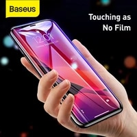 baseus 2pcs 0 3mm full coverage screen protector for iphone 12 11 pro xs max xr protective tempered glass for iphone 12 pro max