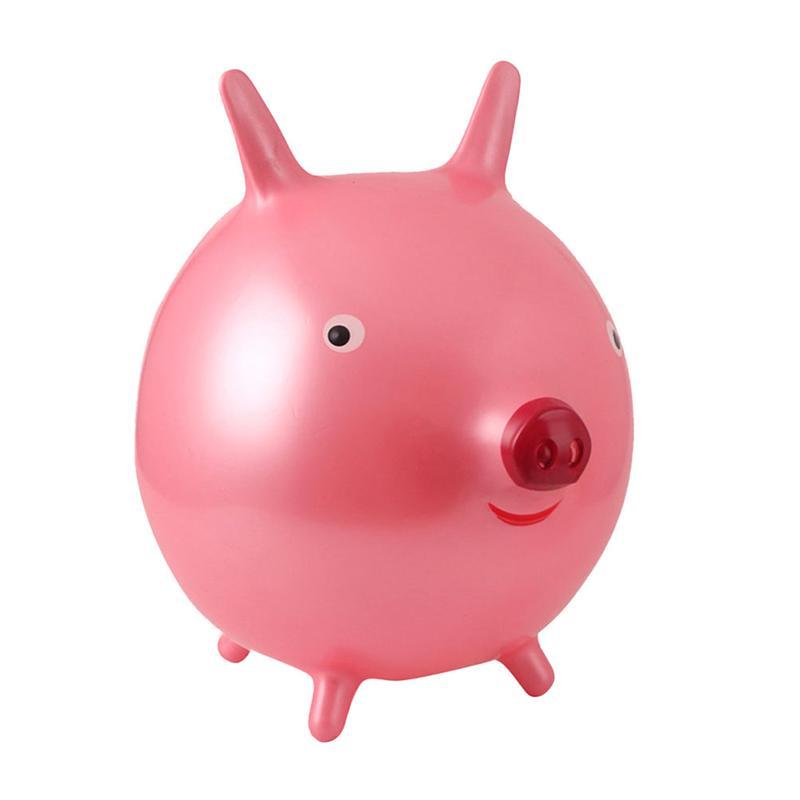 Passeio na bola bouncy pvc engrossar dos desenhos animados funil saltando bola jogar brinquedos
