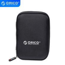 ORICO PHD-25 2.5 pouces Portable externe disque dur sac de Protection double couche tampon HDD étui de Protection-noir