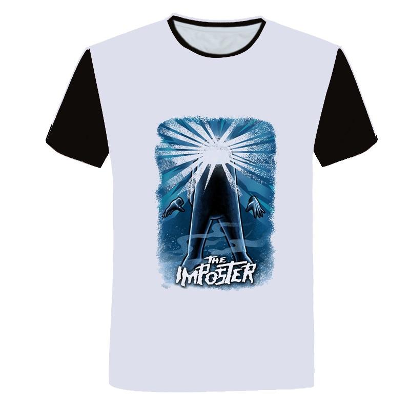 2020 New Crewmatez Impostor days Boys T Shirt Kids Cartoon Tshirt Funny for Girls Child T-Shirt Children Clothing Tee Tops Hot