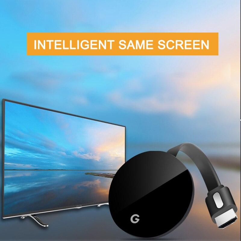 TV Stick WiFi MiraScreen receptor pantalla Dongle para Anycast Crome YouTube fundido receptor de TV HDMI 1080 Miracast HDTV pantalla