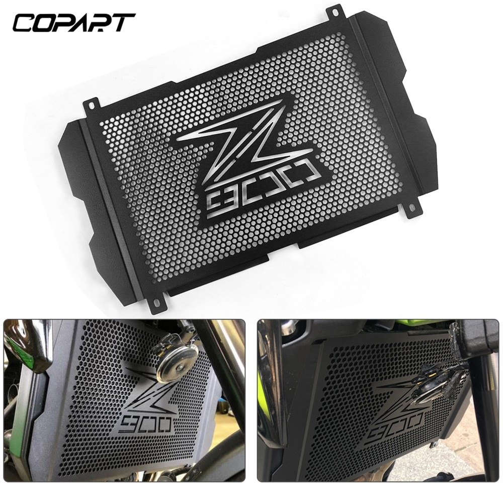 AliExpress - For Kawasaki Z900 Z 900 2017 2018 2019 2020 New Motorcycle Accessories Radiator Grille Cover Guard Protection