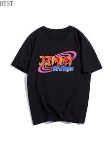 Jimmy Neutron Fashion Casual Short Sleeve Printer 100% Cotton Men T Shirt Summer T-Shirt Clothes