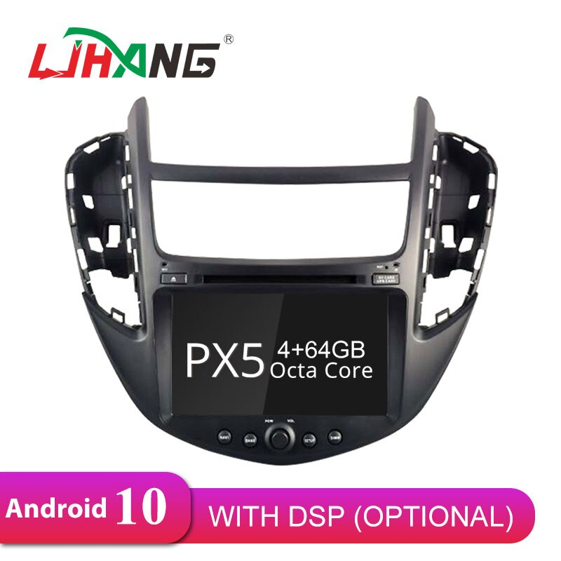 LJHANG Android 10 reproductor de DVD de coche para Chevrolet Tracker/Holden Trax Chevrolet Trax 2013-2017 GPS Navi 1 Din coche radio Estéreo WIFI