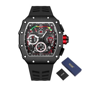 Cool Sport Watch Men Hip Hop Military Army Chronograph Mens Watches Top Brand Luxury Male Clock Waterproof Reloj Hombre Relogio
