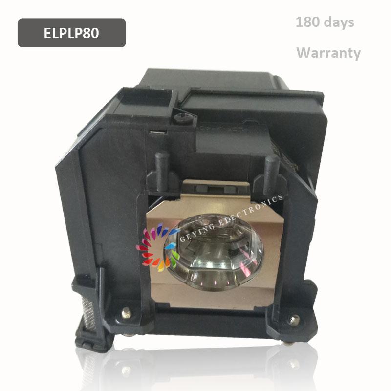 الأصلي العارض مصباح ELPLP80/V13H010L80 UHE245W ل BrightLink 575Wi BrightLink 585Wi BrightLink 595Wi EB-1420Wi EB-1420WT