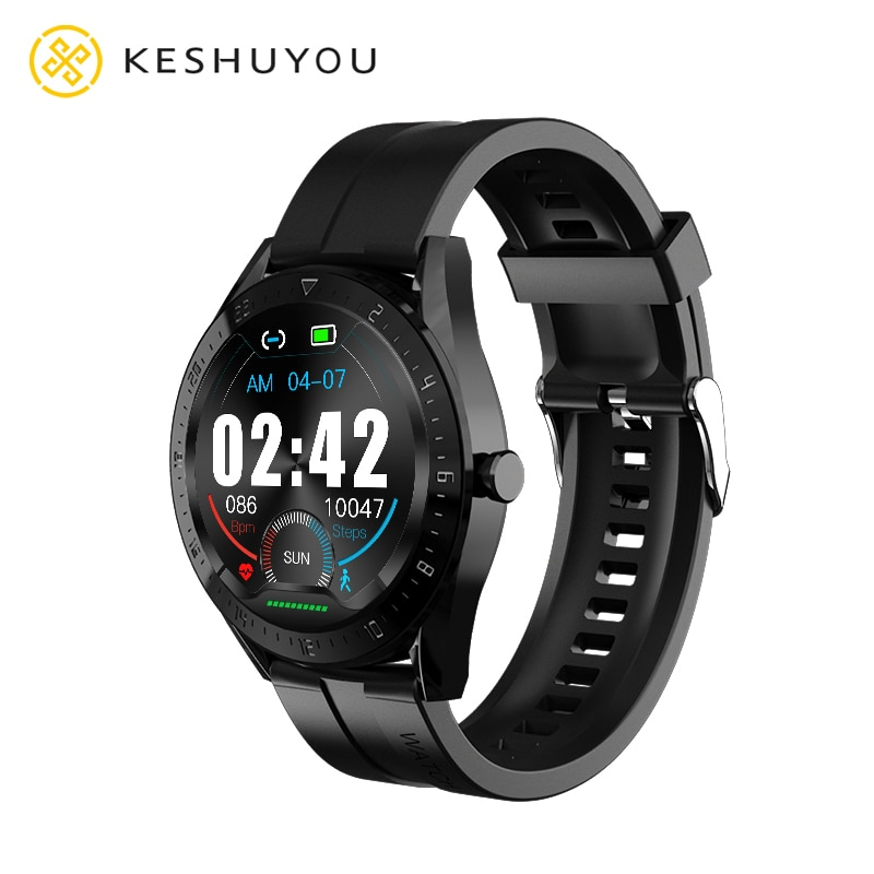 K60 1.4 Round Smart Watch 2021 Men Bluetooth Call Message Function IP67 Waterproof Women Heart Rate