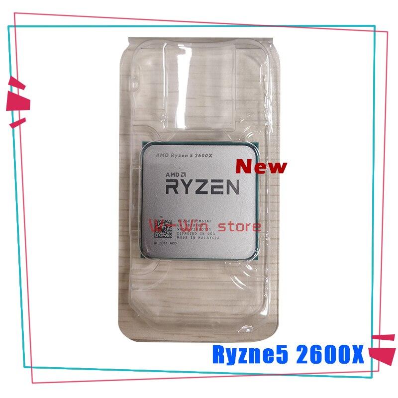 Nuevo AMD Ryzen 5 2600X R5 2600X 3,6 GHz Six-Core 12-Hilo de procesador de CPU YD260XBCM6IAF hembra AM4