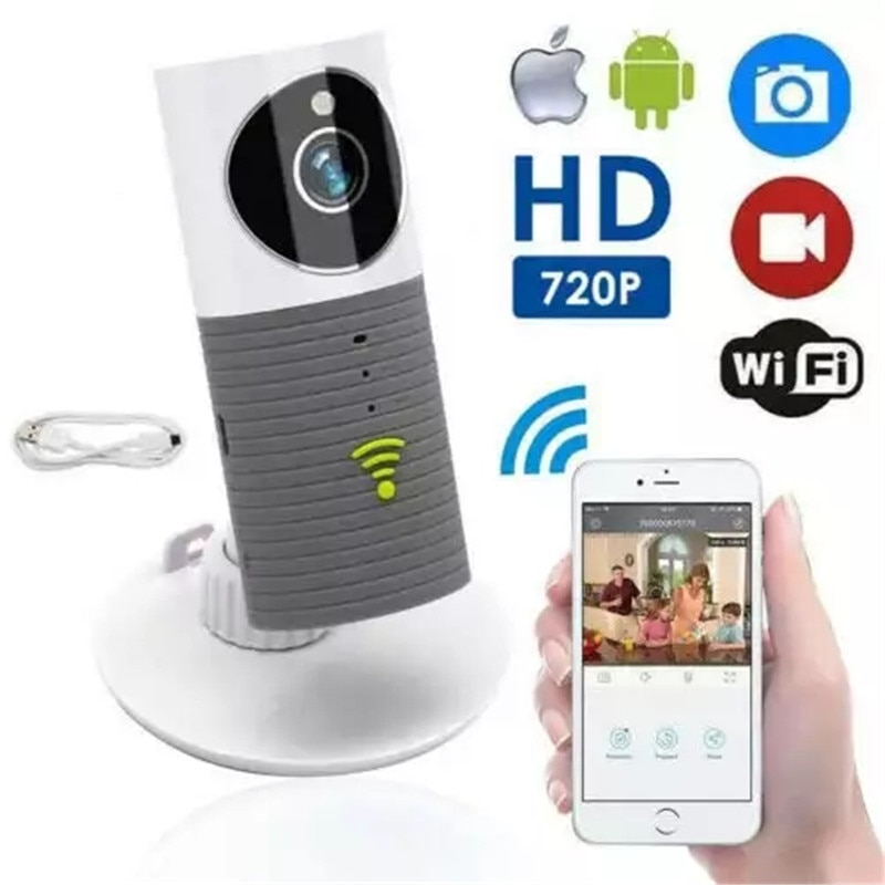 Большая распродажа, детский монитор, Двусторонняя аудио HD 720P, мини умная собака, Домашняя безопасность, WiFi, IP камера, ночное видение, детский ...