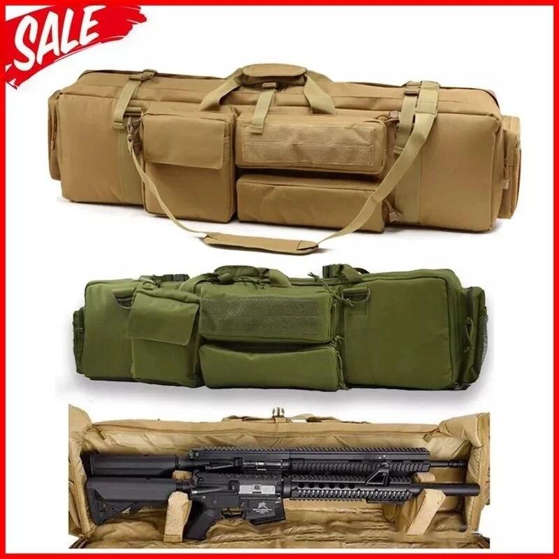 Тактическая Сумка для оружия M249, ранцевый рюкзак для стрельбы, наружный защитный чехол для оружия с плечевым ремнем