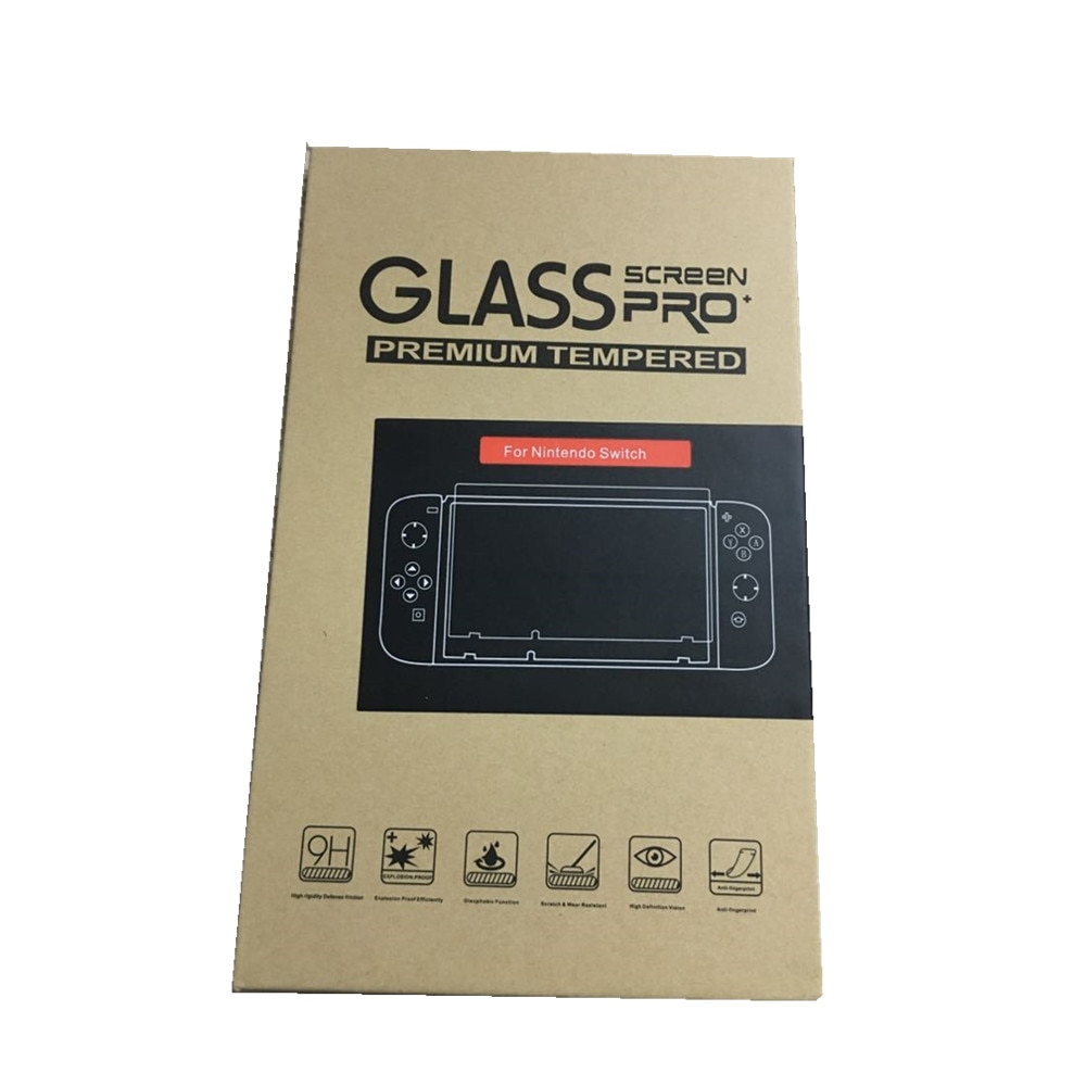 500pcs 9H Tempered Film Glass Screen Protector For Nintend Switch Screen Protector Switch Lite Accessories