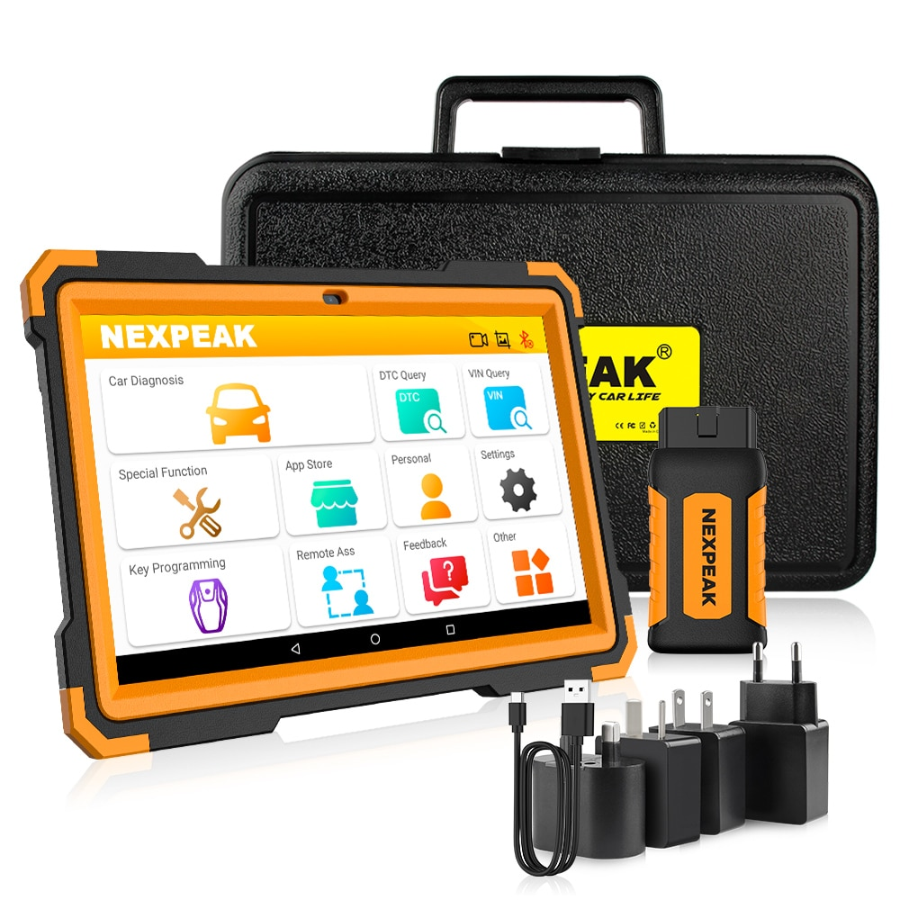 NEXPEAK K1 PLUS Car OBD2 Scanner Diagnostic Tool for Auto ABS Airbag SAS Oil DPF EPB Reset ODB 2 All Systems Automotive Scanner