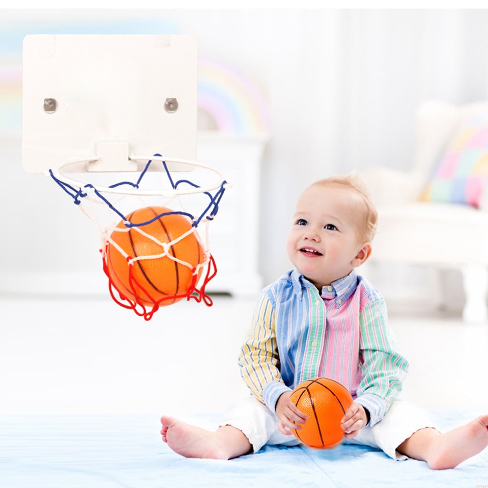 Basketball Training Set Indoor Garden Home Workout Basketball Accessories Sports Toys for Kids Children Basketball Rim Ball Kir