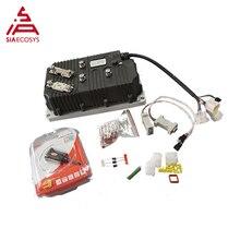QS 24V-72V, contrôleur de moteur sans balais sinusoïdale 600A sans isolation pour moteur à moyeu dans les roues