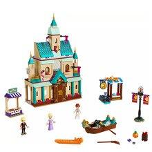 Nouveau Frozenings 2 Arendelle Village princesse blocs de construction briques jouets noël fille cadeaux compatibles amis 41167