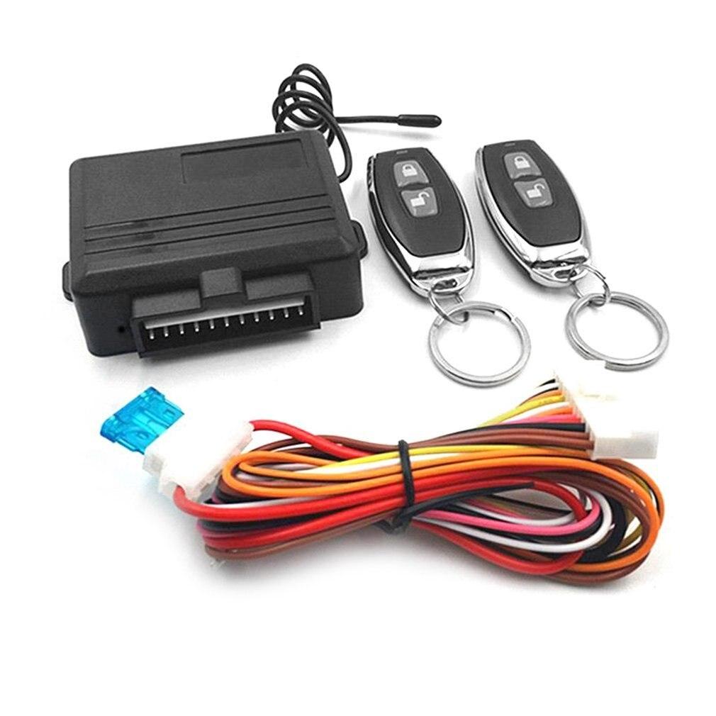 Универсальная бесключевая Система доступа автомобильная система сигнализации s устройство автоматический комплект дистанционного управл...