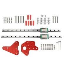 1 Set Dual Z Axis MGN12H Linear Rails Kit for Creality CR-10/CR/10S 3D Printer W8ED