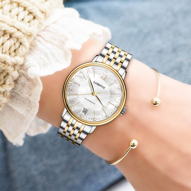 Luxury Brand Switzerland LOBINNI Women Watches Japan MIYOTA Automatic Mechanical Clock Sapphire Waterproof Ladies Watch L2010 enlarge