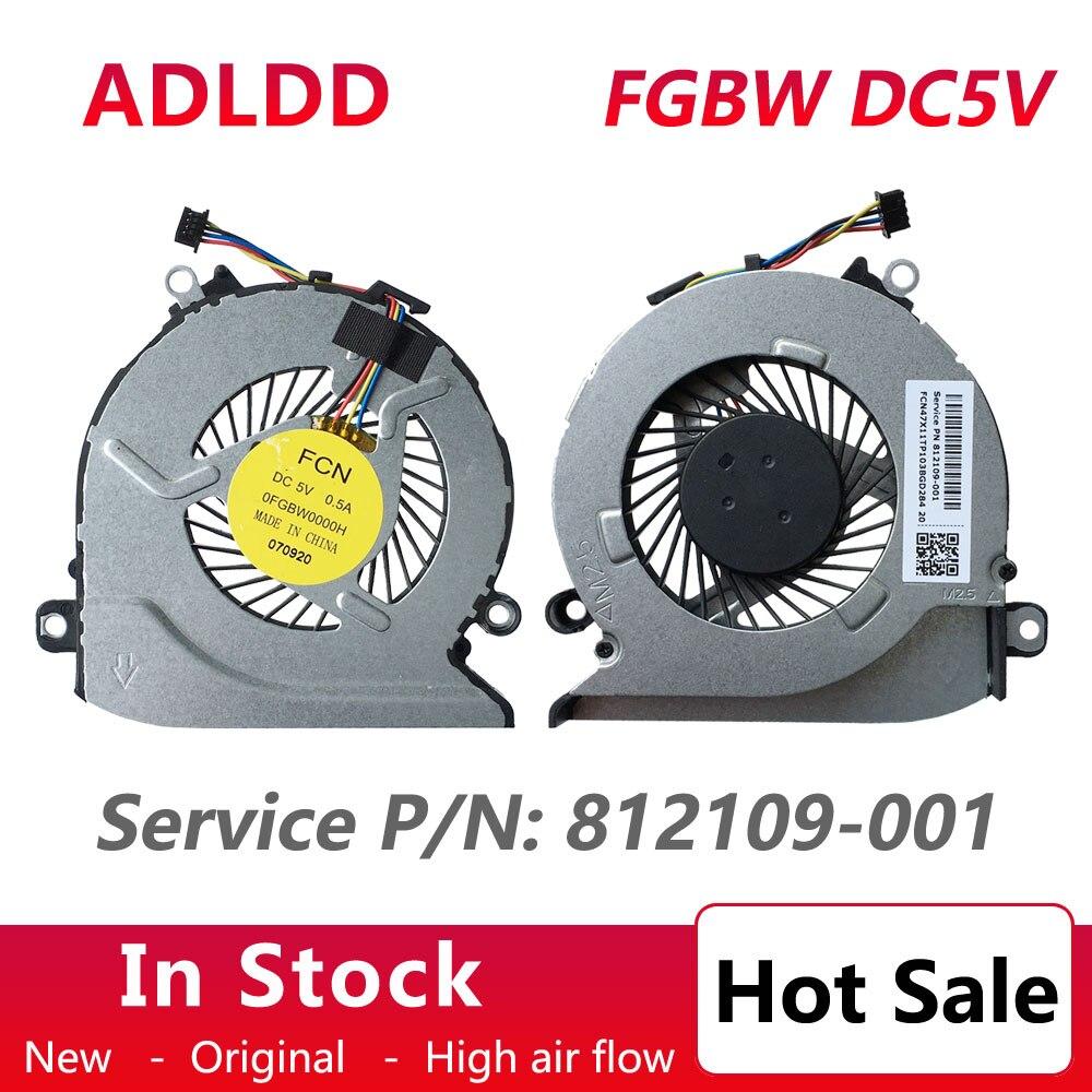Ventilador de enfriamiento para ordenador portátil HP Pavilion 14-ab140TX 15-ab165us 15-ab166us 15-AB010TX...