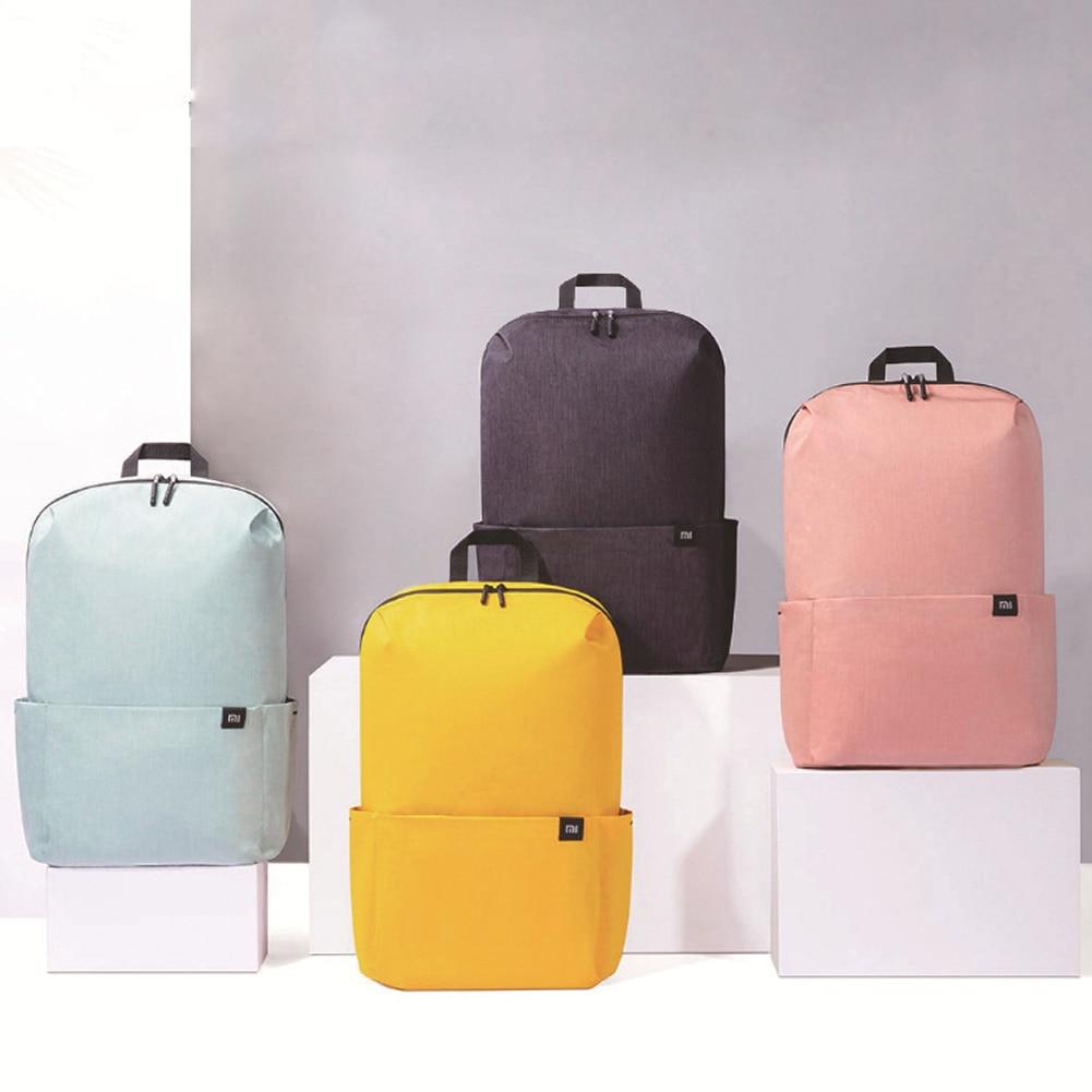Original Xiaomi Backpack 15L Student Schoolbag Light Colorful Couple Mi Backpack Waterproof Travel L
