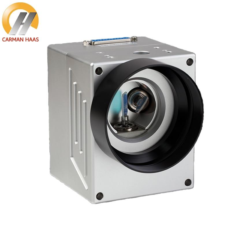 Carmanhaas 10.6um 1064nm CO2 Laser Scanning Galvo Head 10mm Galvanometer Scanner with Power Supply Set