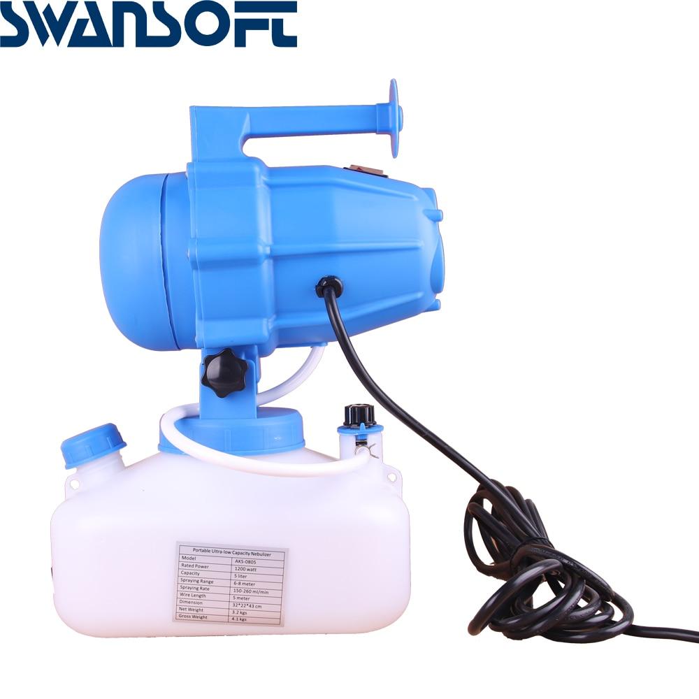 4L electrostatic foggers  garden  sprayer cold fogger machine portable electric ULV fogger enlarge