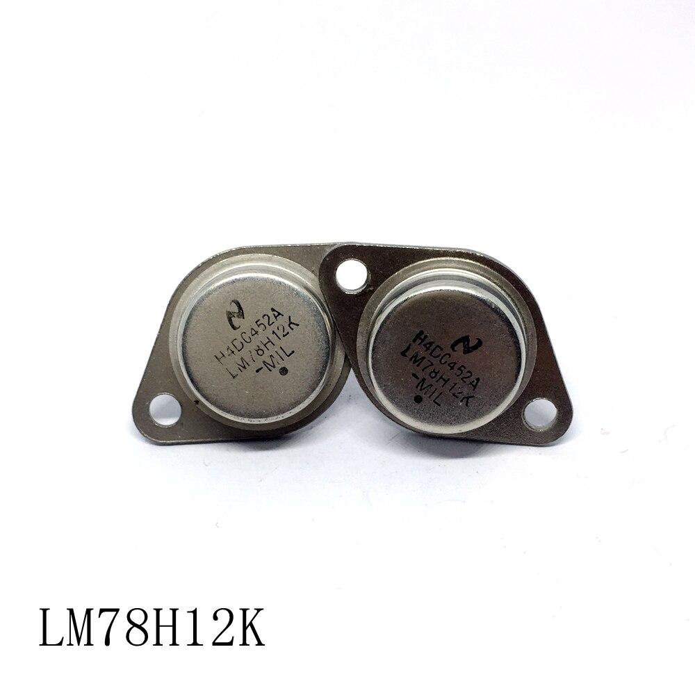 Tubo regulador de tres terminales de alta potencia LM78H05K LM78H12K TO-3 10 unids/lote nuevo en stock