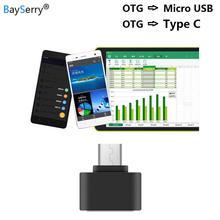 Convertidor de Cable Micro a USB tipo C adaptador OTG usb-c para Samsung S11 S10 S9 Huawei P30 Xiaomi tableta PC teléfono Android