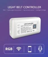 Tuya Zigbee 3 0 Smart LED Controller RGBW 6pin Wirelessly Dimmable Support Tuya Zigbee APP Voice Control Smart Home Accessories