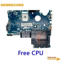 newrecord datz1cmb8f0 a000052590 a000053140 for toshiba satellite p500 p505 laptop motherboard hm55 ddr3 free cpu main board