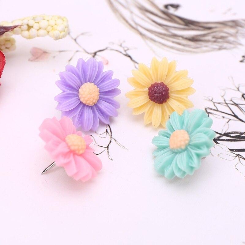 50 шт. разноцветные цветы, пальцевые штанги, флорет, стена, фото, офис, декоративные