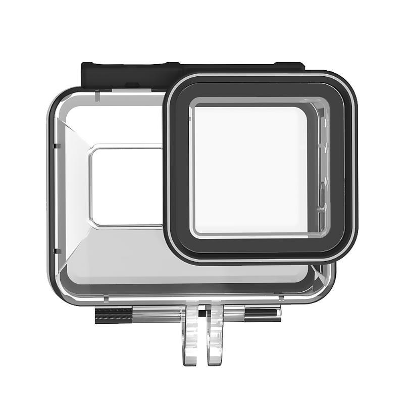40m impermeable funda carcasa de plástico buceo marco de protección de acción cámaras de vídeo accesorios para GoPro Hero 8 Cámara