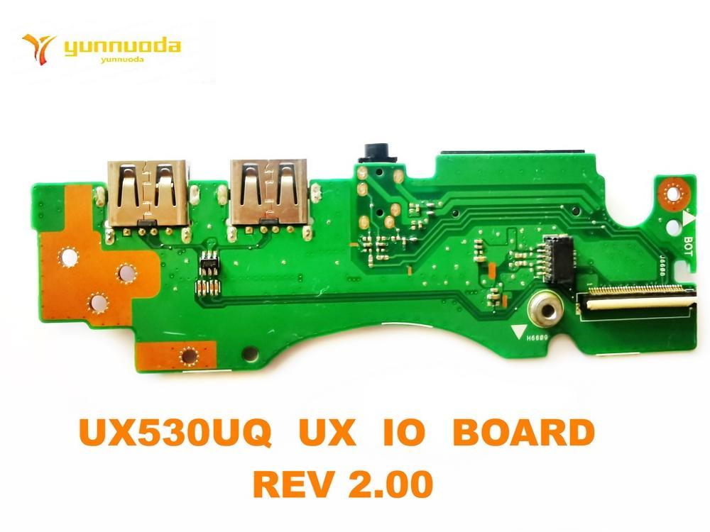 لوحة صوت USB أصلية لـ ASUS UX530UQ ، لوحة صوت UX530UQ ، UX IO ، REV 2.00 ، اختبار جيد ، شحن مجاني