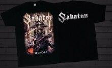SABATON -Heroes- Swedish metal band T_shirt-SIZESS to 6XL