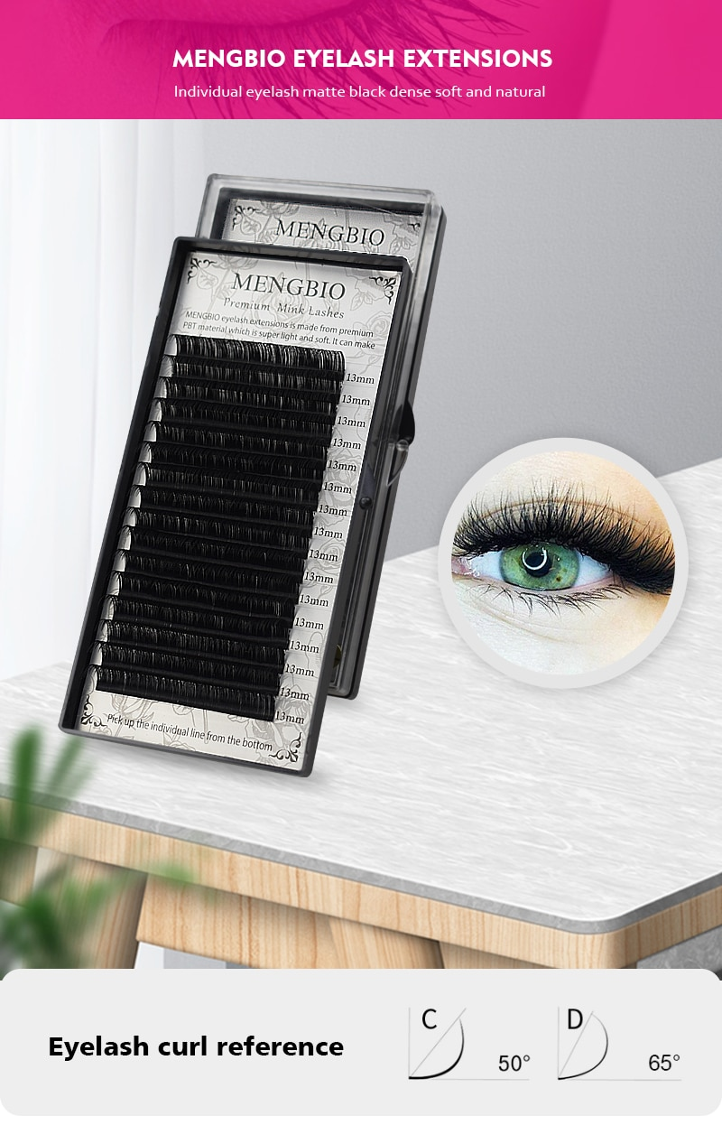 Mengbio Mink Eyelash Extension Soft Classic Lashes High Quality Professionals Individual Eyelash Extensions Nagaraku Line False Eyelashes Aliexpress