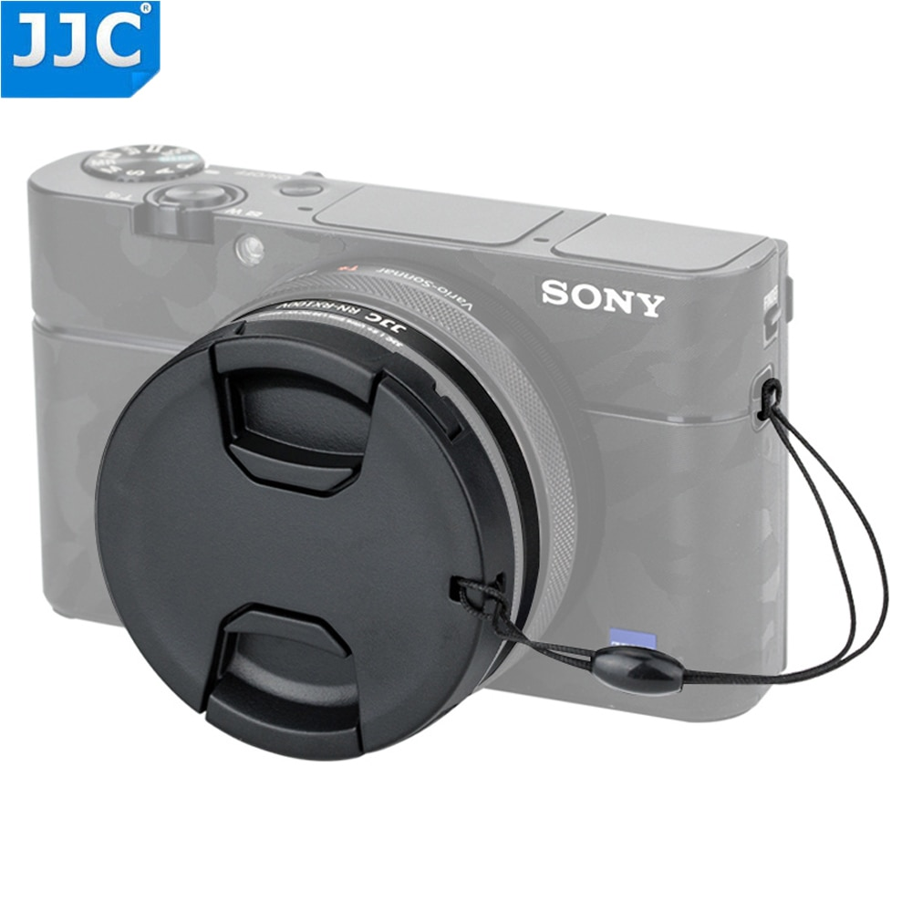 Adaptador de montaje de filtro JJC para Sony RX100M5A RX100M5 RX100M4 RX100M3 RX100M2 RX100 cámaras 52mm Tubo de filtros Kit tapa de lente