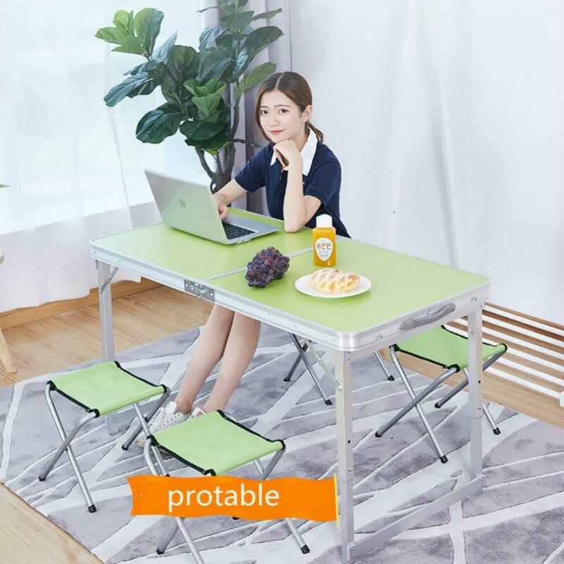 Mesa para acampar al aire libre y sillas Plegable, portátil, multifunción, para...