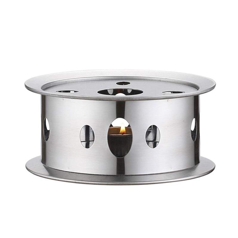 Tetera Trivets calentador Trivets plato de café redondo tetera calentador vela Base práctica tetera Trivets calentador Warme