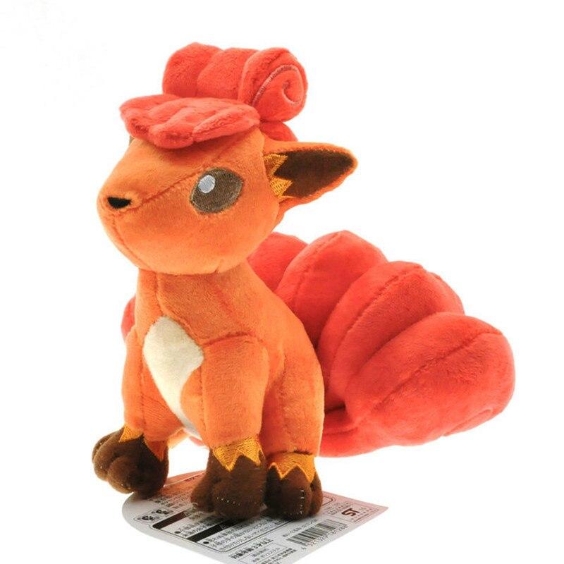 Figuras de acción de Pokémon Vulpix, juguetes de peluche de 150mm, figuras de Anime Pokemon Go Vulpix