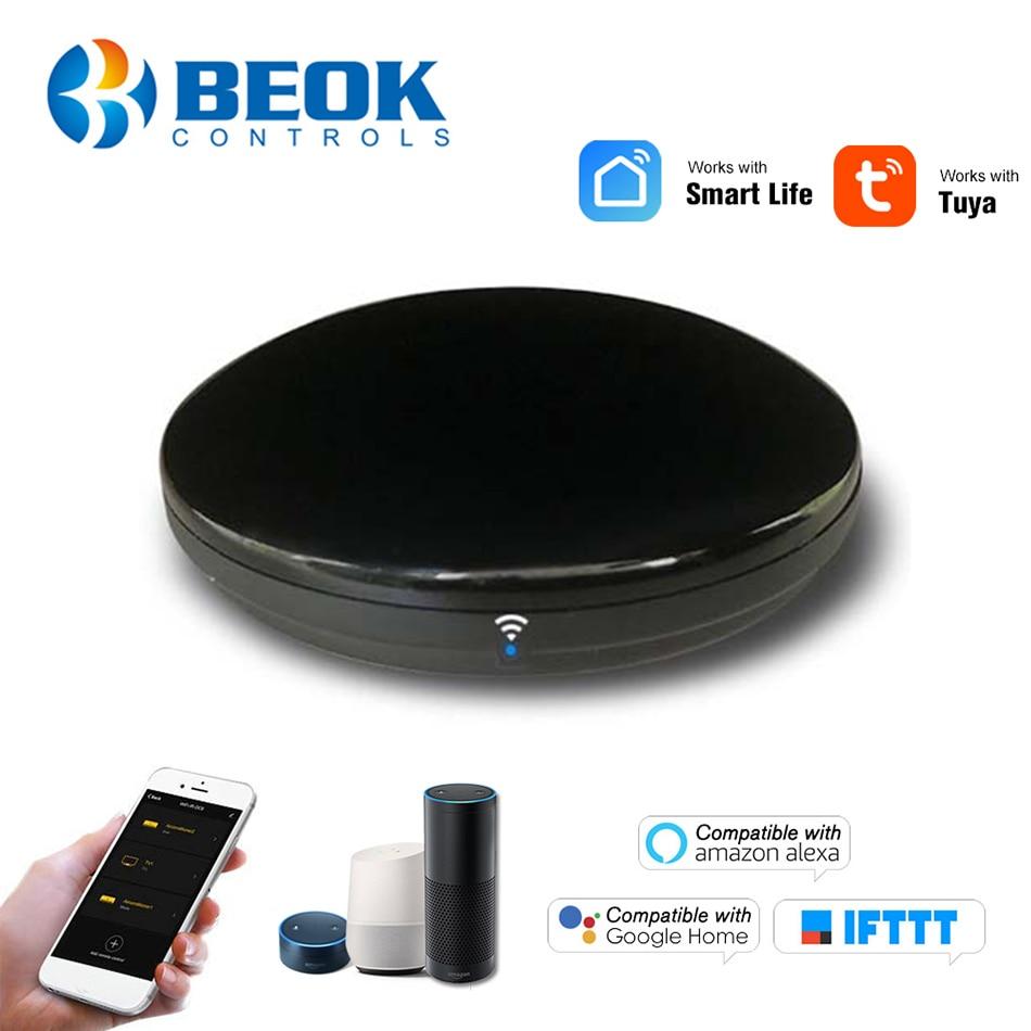 Wireless Infrared Smart Remote Control Hub WiFi IR Controller Tuya Smart Life APP Voice Control Alexa Google Home