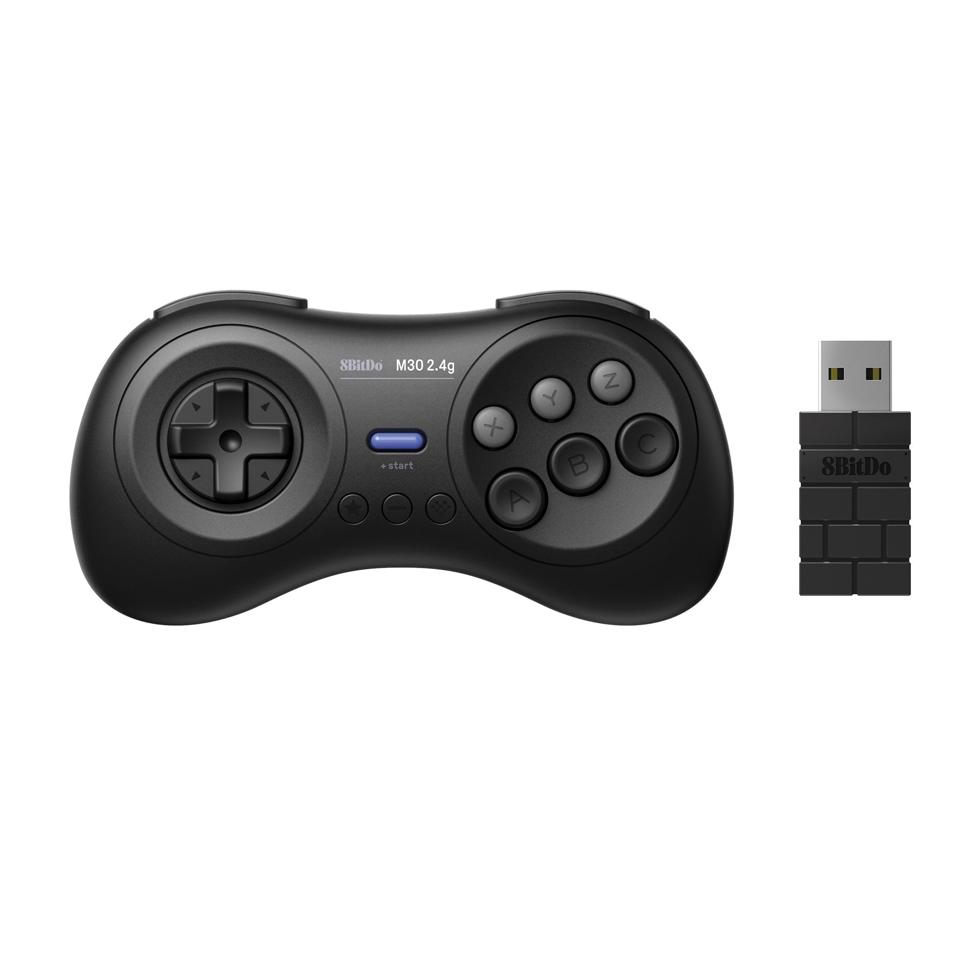 8BitDo M30 2,4G Wireless Gamepad Sega Génesis Mini y Mega Drive Mini-Sega Genesis