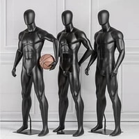 running model mens whole body sports large muscle mannequin display stand model